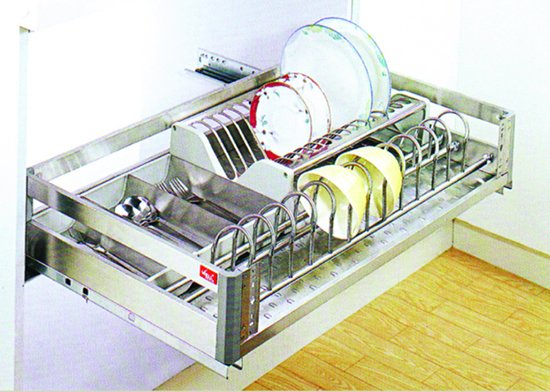 Kitchen Cabinet Accessory - Drawer Basket Multi-function