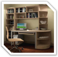Home Interior Design - Study Room